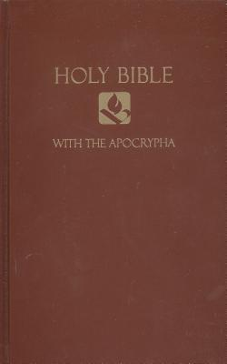 Holy Bible with the Apocrypha: New Revised Standard Version, Brown, Pew Bible