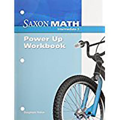 Image for Saxon Math Power-Up Workbook: Intermediate 3