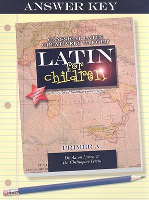 Image for Latin for Children Primer A (Answer Key)