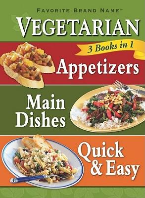 Image for 3 in 1 Vegetarian Cookbook (Favorite Brand Name 3 Books in 1)