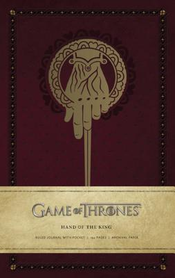Game of Thrones: Hand of the King Hardcover Ruled Journal (Insights Journals), HBO, .