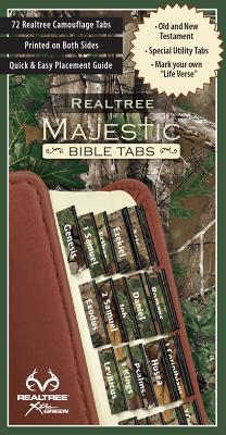 Image for Majestic Realtree Camo Bible Tabs
