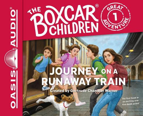 Image for Journey on a Runaway Train - unabridged audio book on CD #1