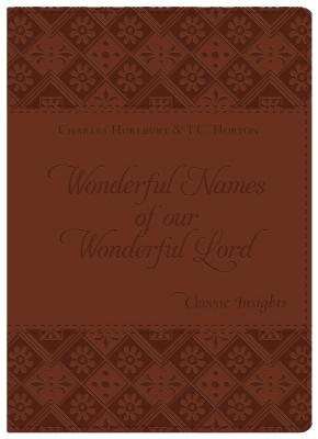 Image for The Wonderful Names of Our Wonderful Lord (Classic Insights)