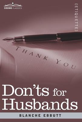 Image for Don'ts for Husbands