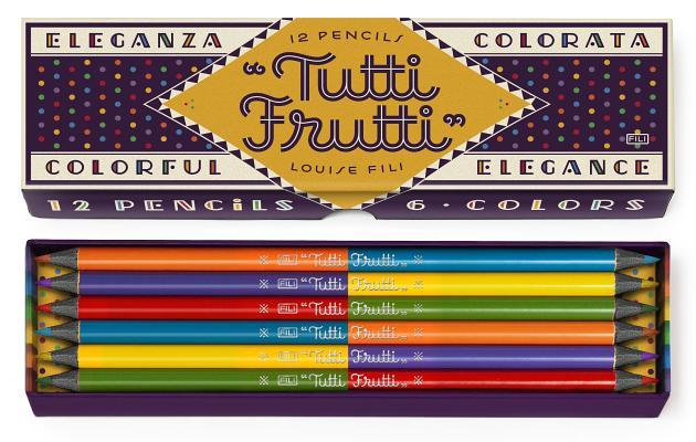 Image for TUTTI FRUTTI PENCILS