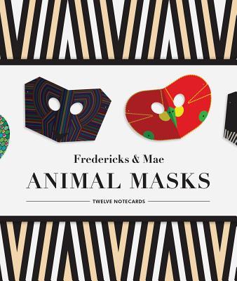Image for Fredericks & Mae Animal Masks: Twelve Notecards