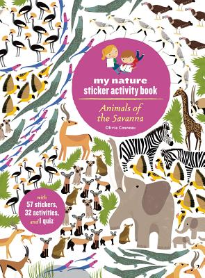 Image for Animals of the Savanna: My Nature Sticker Activity Book