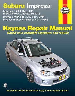 Image for Subaru Impreza, Impreza WRX & Impreza WRX STI Haynes Repair Manual (2002-2014)