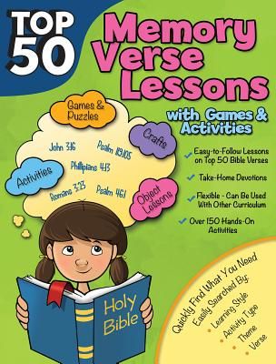 Image for Top 50 Memory Verses with Lessons with Games and Activities