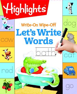 Image for WRITE-ON WIPE-OFF LET'S WRITE WORDS