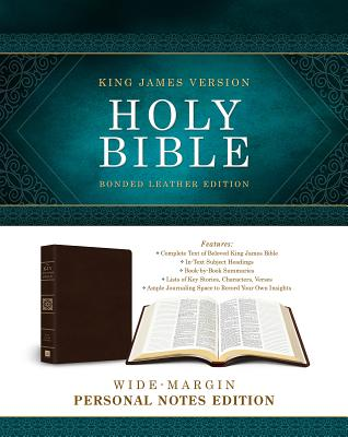 Image for Holy Bible: Wide-Margin Personal Notes Edition: King James Version (Bonded Leather) (King James Bible)