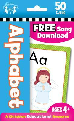 Image for ALPHABET CHRISTIAN 50-COUNT FLASH CARDS