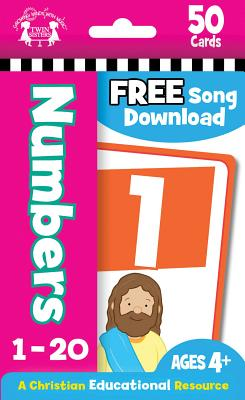 Image for NUMBERS CHRISTIAN 50-COUNT FLASH CARDS