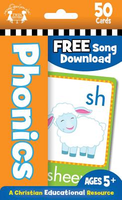 Image for PHONICS CHRISTIAN 50-COUNT FLASH CARDS