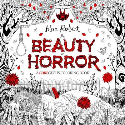 Image for The Beauty of Horror: A GOREgeous Coloring Book