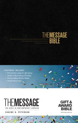 Image for The Message Gift and Award Bible (Softcover, Black): The Bible in Contemporary Language
