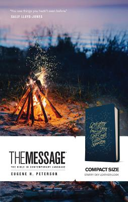 Image for The Message Compact (Leather-Look, Starry Sky): The Bible in Contemporary Language