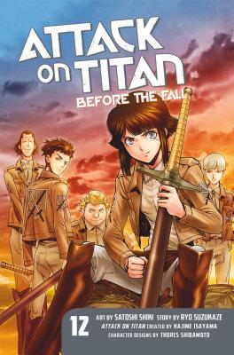 Attack on Titan: Before the Fall 12, Suzukaze, Ryo
