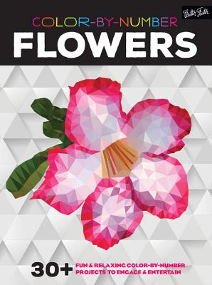 Image for Color-by-Number: Flowers: 30+ fun & relaxing color-by-number projects to engage