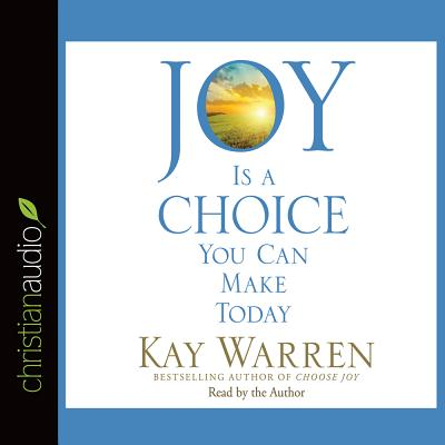 Image for Joy Is a Choice You Can Make Today CD Audiobook