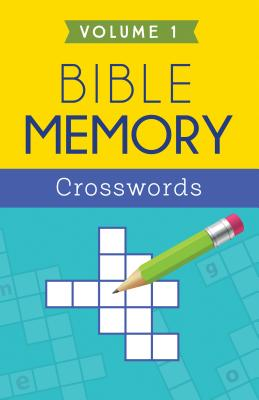 "Image for ""Bible Memory Crosswords, Volume 1"""