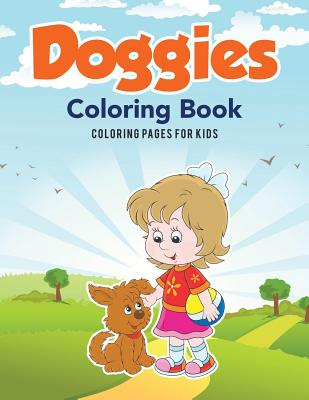 Doggies Coloring Book, for Kids, Coloring Pages