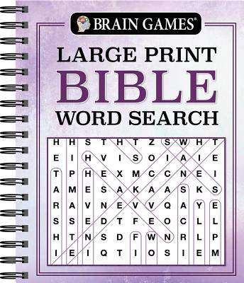 Image for Brain Games - Large Print Bible Word Search (Brain Games - Bible)