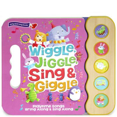 Image for Wiggle, Jiggle, Sing & Giggle: Children's Sound Book (5 Button Sound)