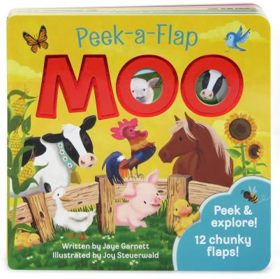 Image for Moo: Peek-a-Flap Children's Board Book