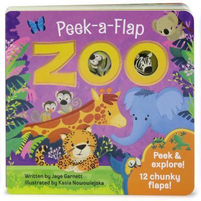 Zoo: Peek-a-Flap Board Book, Jaye Garnett; Cottage Door Press