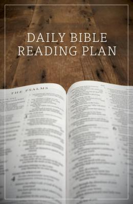 "Image for ""Daily Bible Reading Plan, Pack of 25 Tracts"""