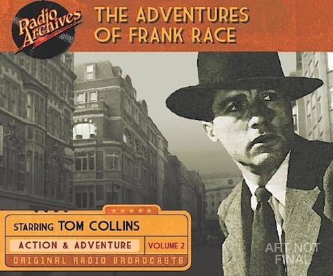 Image for The Adventures of Frank Race, Volume 2
