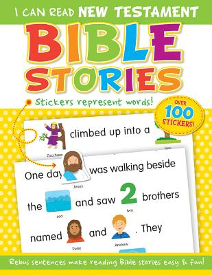 Image for I Can Read New Testament Bible Stories Sticker Book