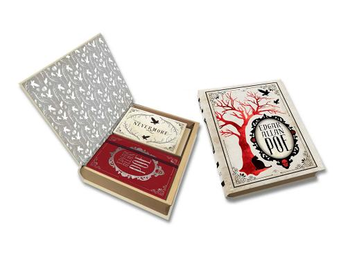 Image for Edgar Allan Poe Deluxe Note Card Set (With Keepsake Book Box) (Literary)