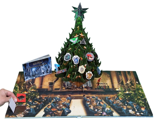 Image for Harry Potter: A Hogwarts Christmas Pop-Up (Advent Calendar)