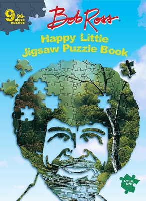 Image for Bob Ross Happy Little Jigsaw Puzzle Book