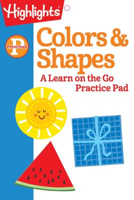Image for PRESCHOOL COLORS AND SHAPES: A LEARN ON THE GO PRACTICE PAD