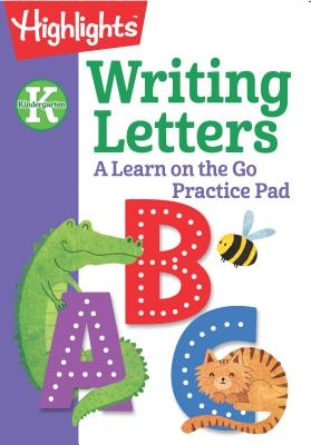 Image for KINDERGARTEN WRITING LETTERS: A LEARN ON THE GO PRACTICE PAD