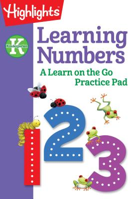 Image for KINDERGARTEN LEARNING NUMBERS: A LEARN ON THE GO PRACTICE PAD