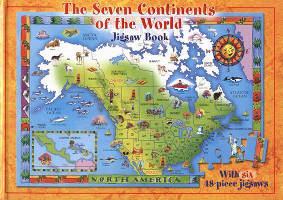Seven Continents: Jigsaw Book, Jennifer Mappin