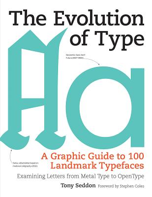Image for The Evolution of Type: A Graphic Guide to 100 Landmark Typefaces