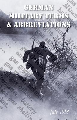Image for VOCABULARY OF GERMAN MILITARY TERMS AND ABBREVIATIONS