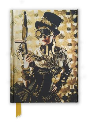 Image for STEAMPUNK LADY FOILED JOURNAL (FLAME TREE NOTEBOOKS)
