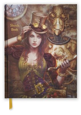 Image for Steampunk (Blank Sketch Book) (Luxury Blank Journals)