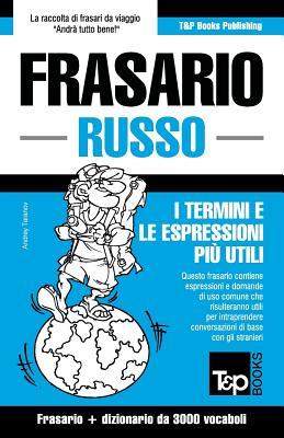 Image for Frasario Italiano-Russo e vocabolario tematico da 3000 vocaboli (Italian Edition)