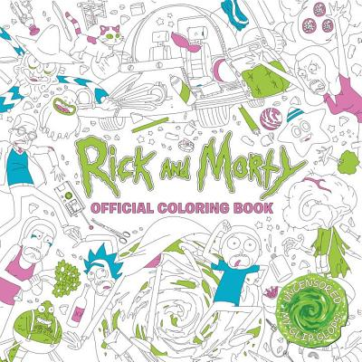 Image for Rick and Morty Official Coloring Book