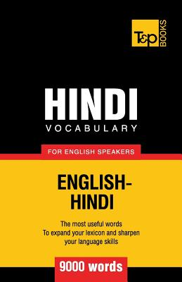Image for Hindi vocabulary for English speakers - 9000 words