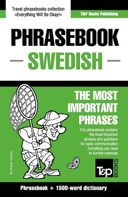 English-Swedish phrasebook and 1500-word dictionary, Taranov, Andrey