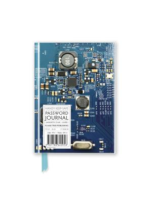 Image for Circuit Board Blue (Password Book) (Flame Tree Pocket Books)